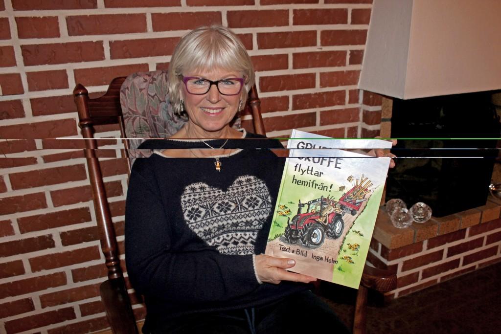 Inga Holm har nyligen kommit ut med en ny bok om Gruffe. Kanske är det den sista.