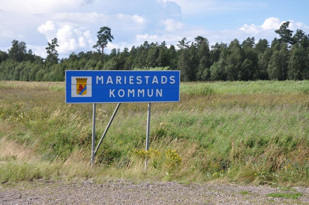 Mariestad skylt 1