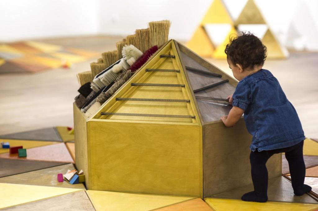 """""""Kan Själv-Ljud!"""" presenterar ljud som är spännande och intressanta för de yngsta barnen. Foto: Ian Schemper/Västarvet"""