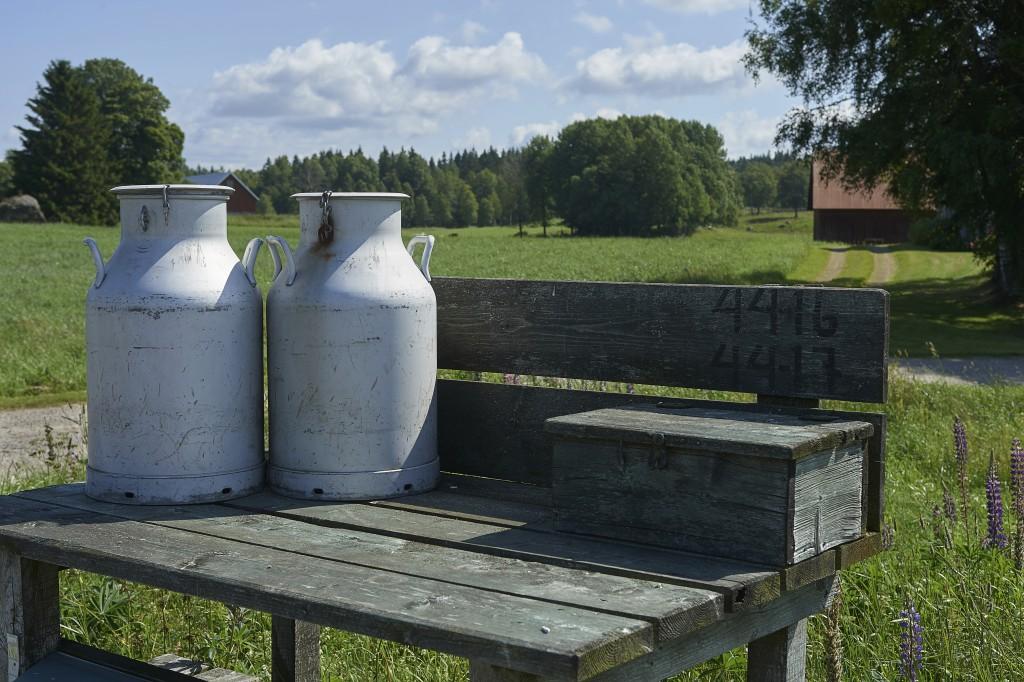 Mjölkkrukor, Kinnared Västergötland