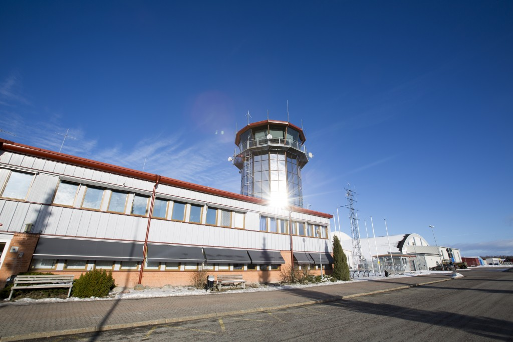 Jönköpings flygplats.