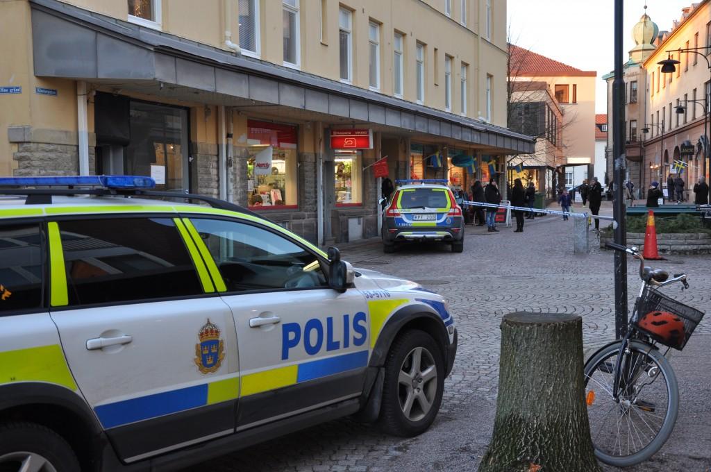 Klostegatan i Skara. Foto: Fredrik Andersson