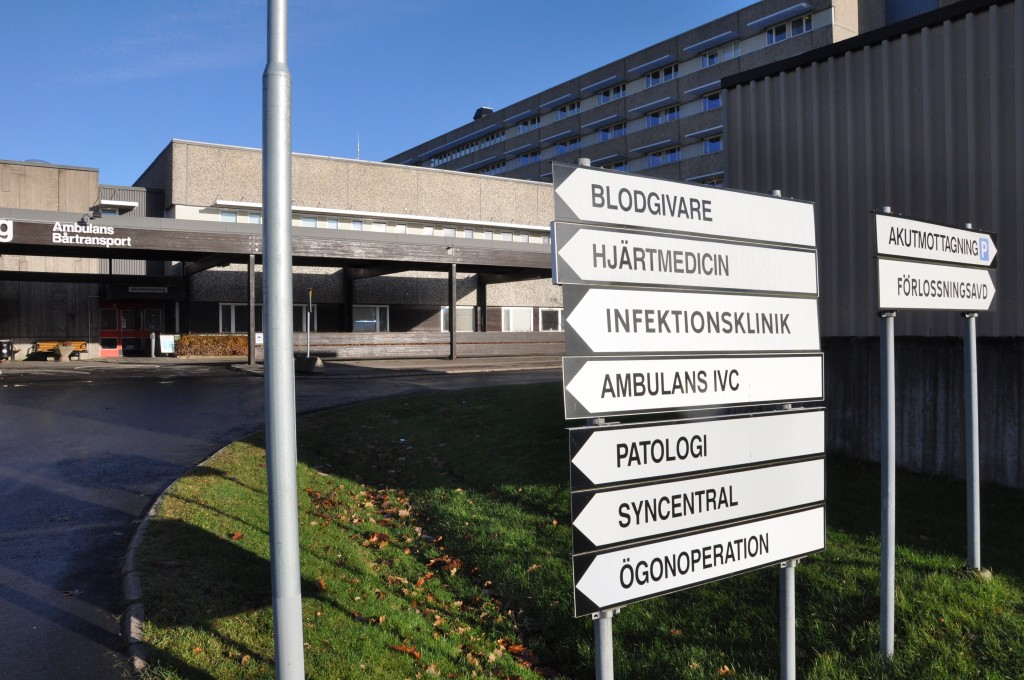 Skaraborgs sjukhus i Skövde.