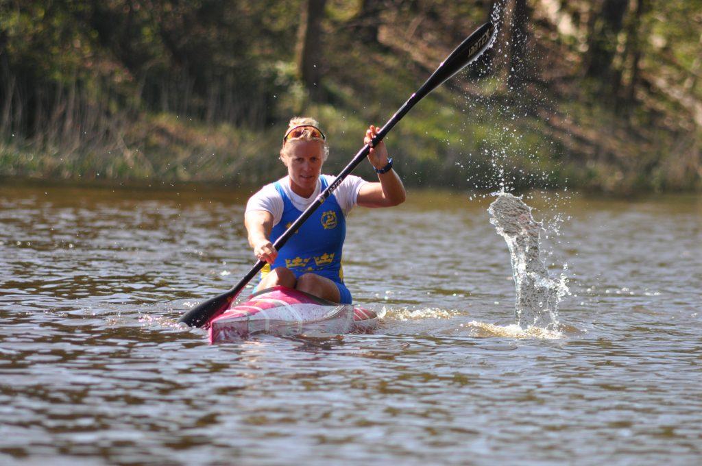 Karin Johansson är en många framgångsrika idrottare från Lidköping. Foto: Fredrik Andersson/arkiv