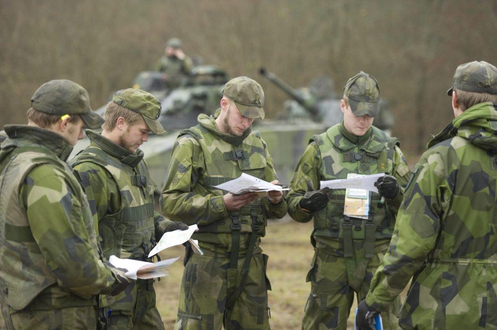 Foto: Niklas Ehlén/Combat Camera/Försvarsmakten.