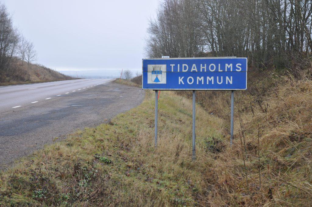 Tidaholm skylt