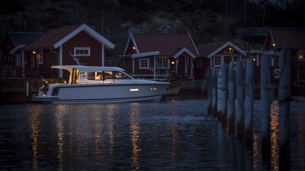 Det säljs båtar som aldrig förr. Här fritidsbåt från Nimbus i Lugnås, utanför Mariestad.