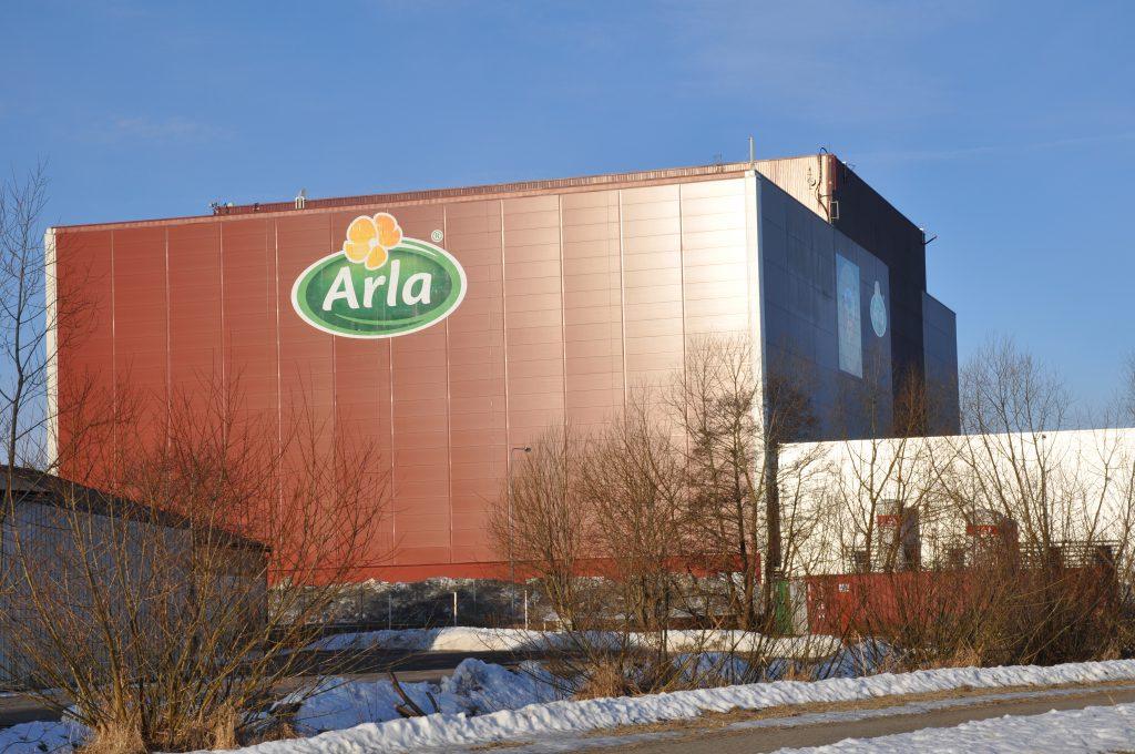 Arlas anläggning i Götene. Foto: Fredrik Andersson