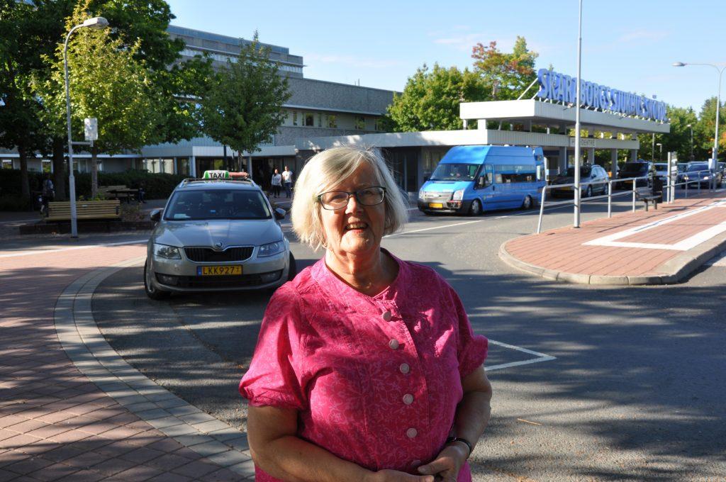 Ulla-Britt Hagström.