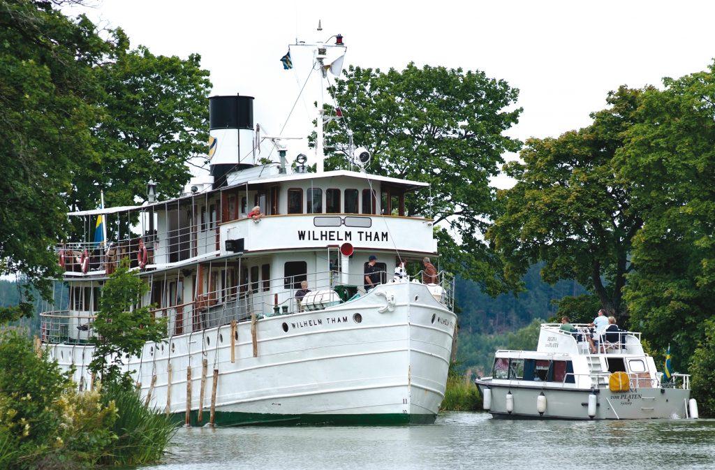 Regeringen satsar på att bevara Göta kanal. Foto: Göran Billeson