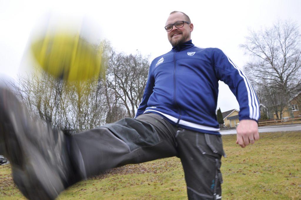 Peter Fogelberg kickade igång Cancersparken inför förra säsongen. Nu är insamlingen snart klar och Peter kan konstatera att målet, 100000 kronor, är slaget.