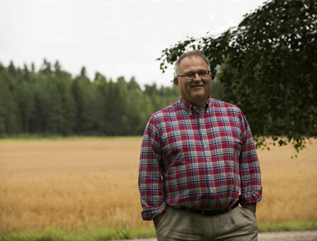 Kent Johansson är ny ordförande för Hemslöjden i Sverige.