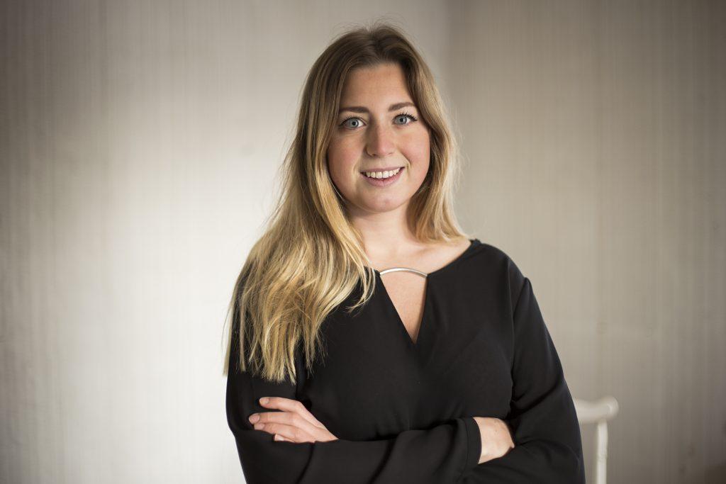 Louise Grabo, Vara, nyvaldes i helgen som vice förbundsordförande för CUF. Foto: Sofie Grabo