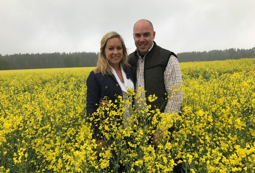 Therese W Olsson och Emil Olsson. Foto: Elsa W Olsson