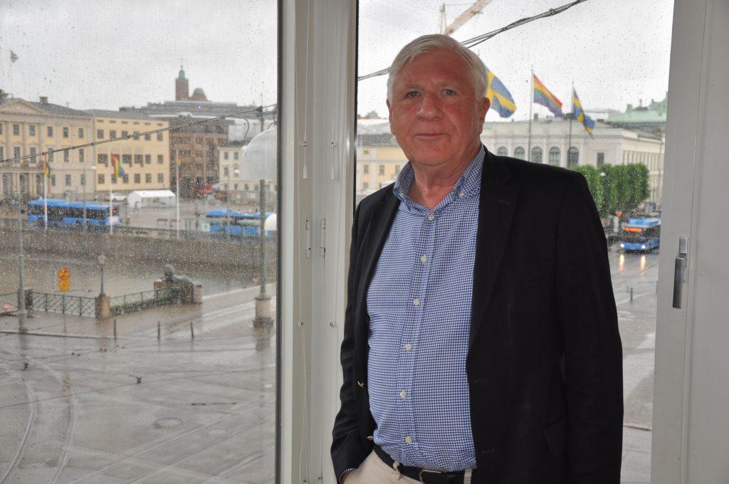 Johnny Magnusson (M) ställer upp för en ny period i regionen. Sedan 2014 är hans regionstyrelsens ordförande.