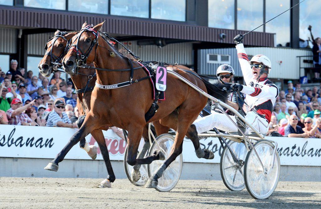 Ultra Bright och Fredrik Persson. Foto: Malin Albinsson/Kanal 75