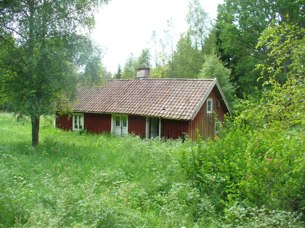 Soldattorpet Islebo i Norra Fågelås utanför Hjo. Foto: Björn Lippold