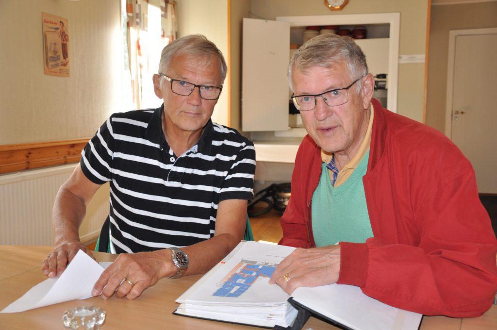 Stig Larsson och Jan Lundegrén, Axvalls IF.