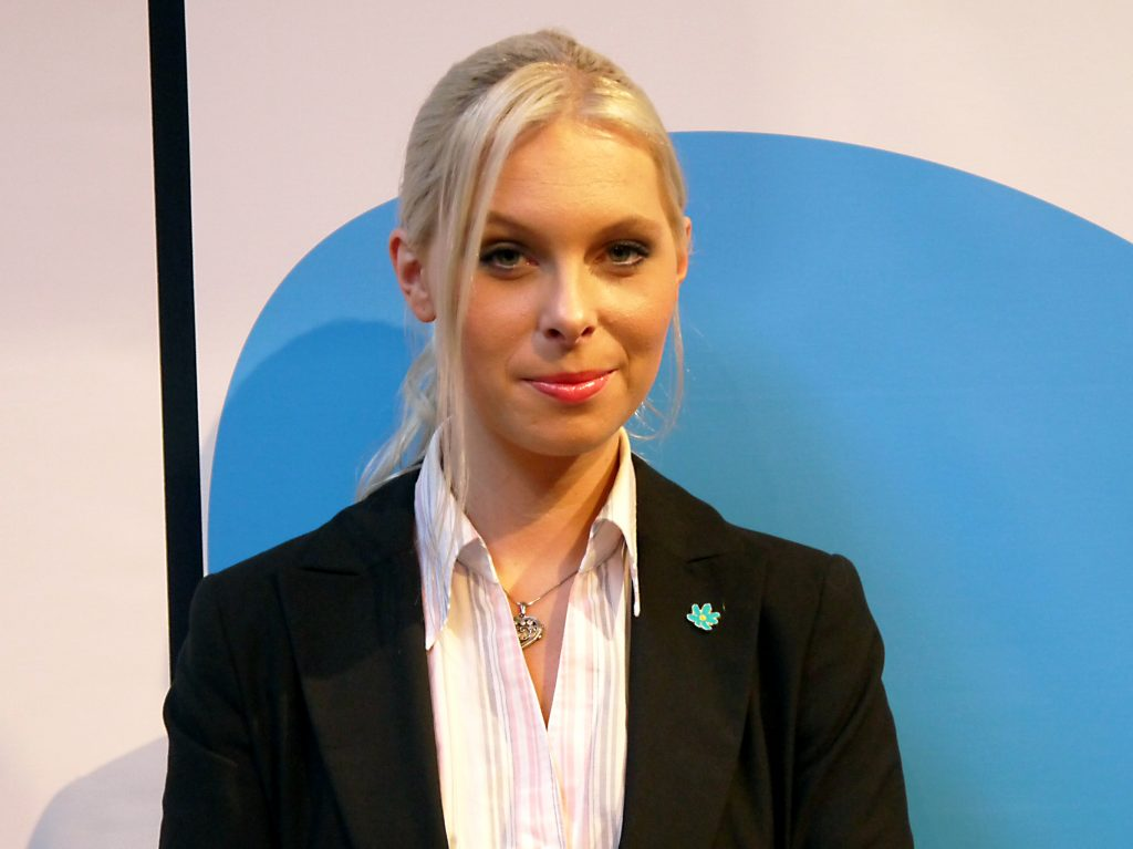 Riksdagsledamot Hanna Wigh (SD) har gjort en polisanmälan efter bråk på partiets budgetmöte i Falköping.