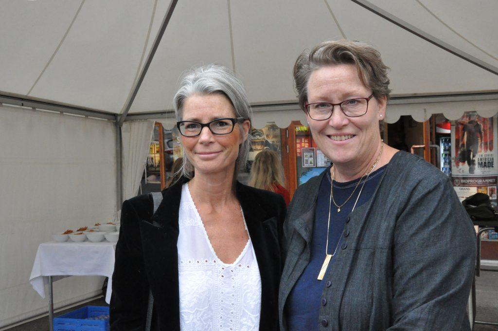 I onsdags var det VIP-premiär för filmen på Grand i Skara, och My Lindberg var förstås på plats. Här tillsammans med arkeologen Maria Vretemark.