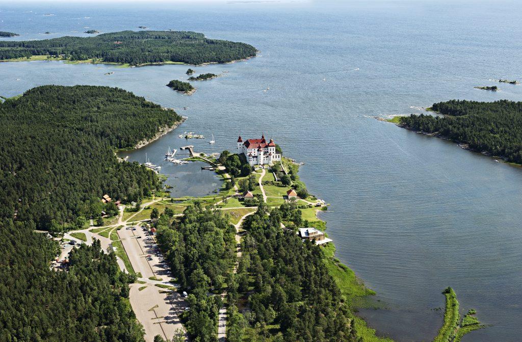 Läckö Slott och naturum Vänerskärgården – Victoriahuset Foto : Ulf Fabiansson