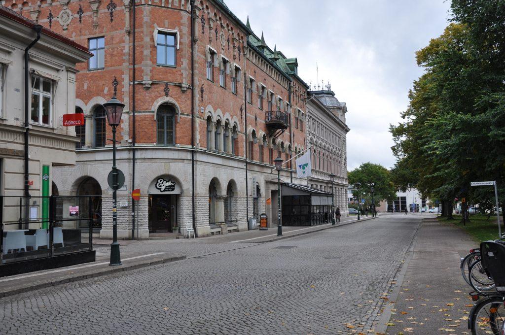 Revisorerna får inga egna lokaler i det nya Regionens hus i Skövde. På bilden nuvarande Regionens hus i Skövde.