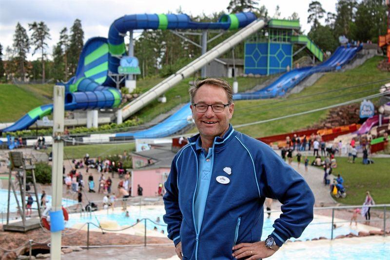 Skara Sommarlands vd Janne Nilsson. Foto: Skara Sommarland