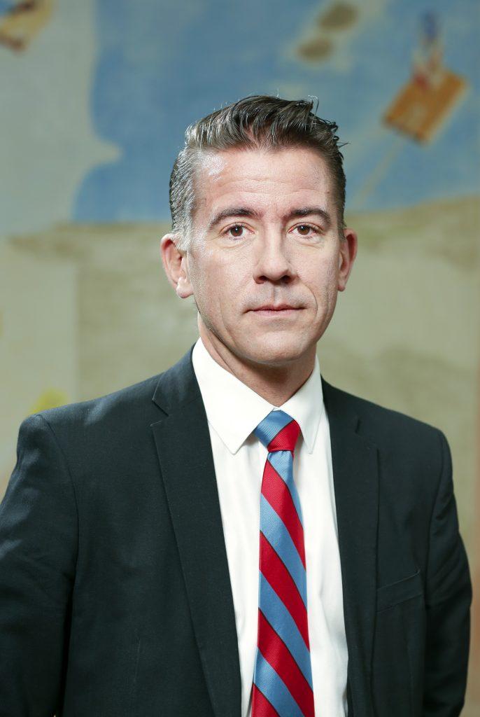 Martin Valfridssson, bördig från Götene, blir ny rättschef på Polismyndigheten. Foto: Sören Andersson/Regeringskansliet
