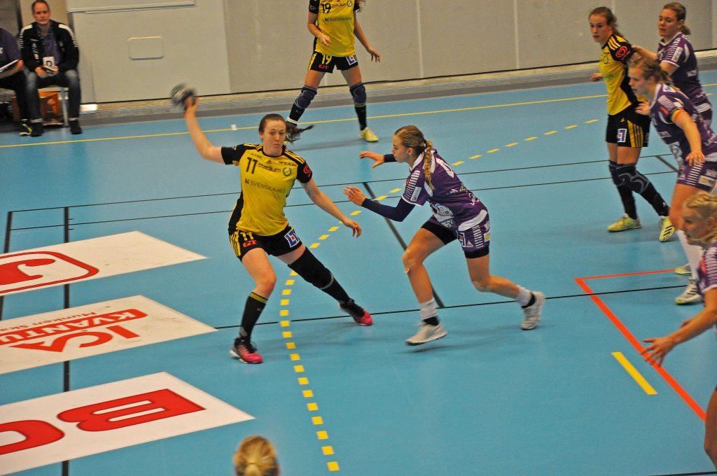 Sävehof vann med 26-20 över Skara HF på onsdagskvällen. Foto: Fredrik Andersson