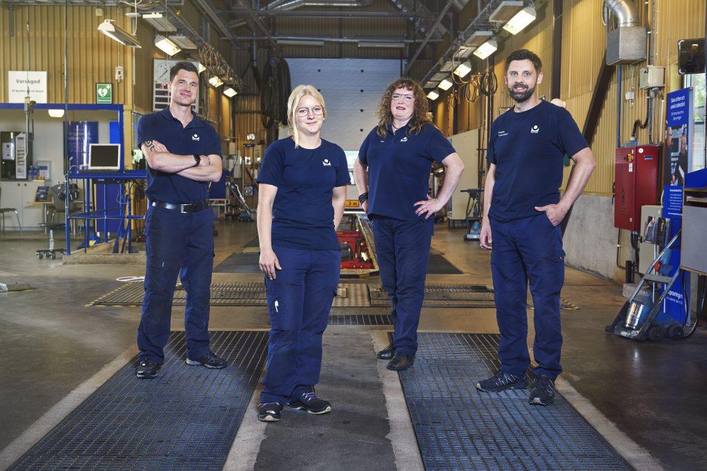 Kent, Sandra, Ylva och Fredrik. Foto: TV3/Johnny Wohlin