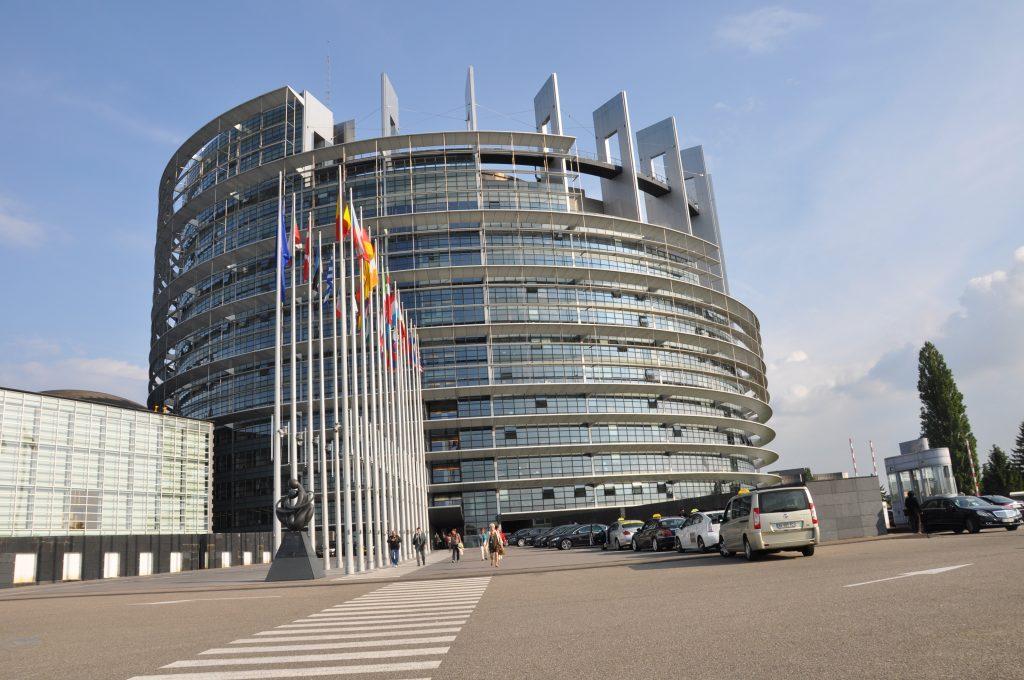 Europaparlamentet i Strasbourg. Foto: Fredrik Andersson/arkiv