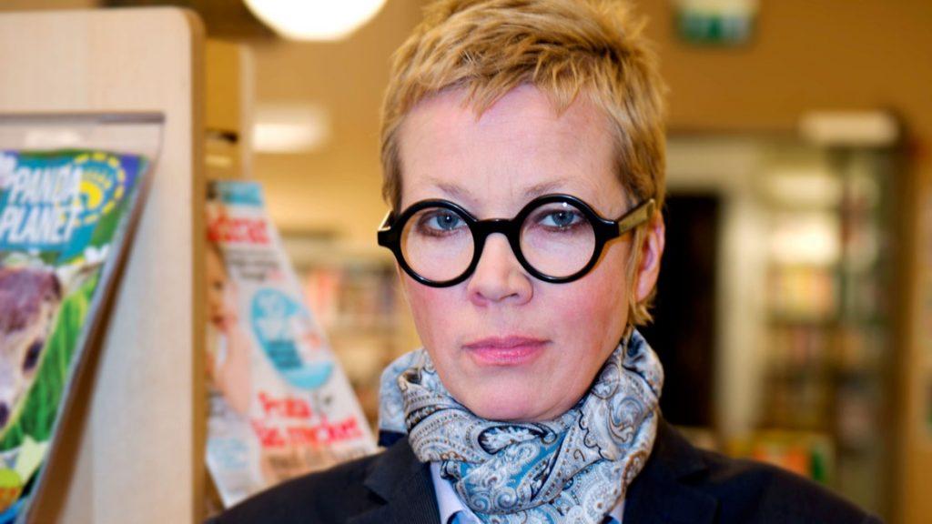 I februari tillträder Katti Hoflin som kulturchef i Västra Götalandsregionen. Foto: Stockholms stadsbibliotek, fotograf Mattias P Dahlqvist