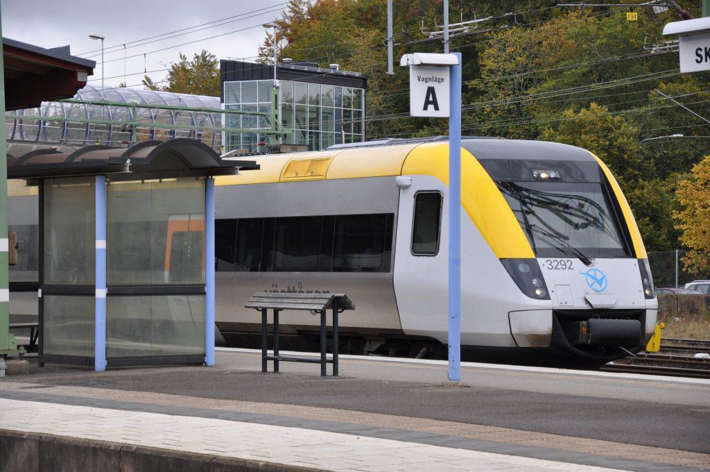Skövde kommun vill ha tågstopp vid Södra Ryd.