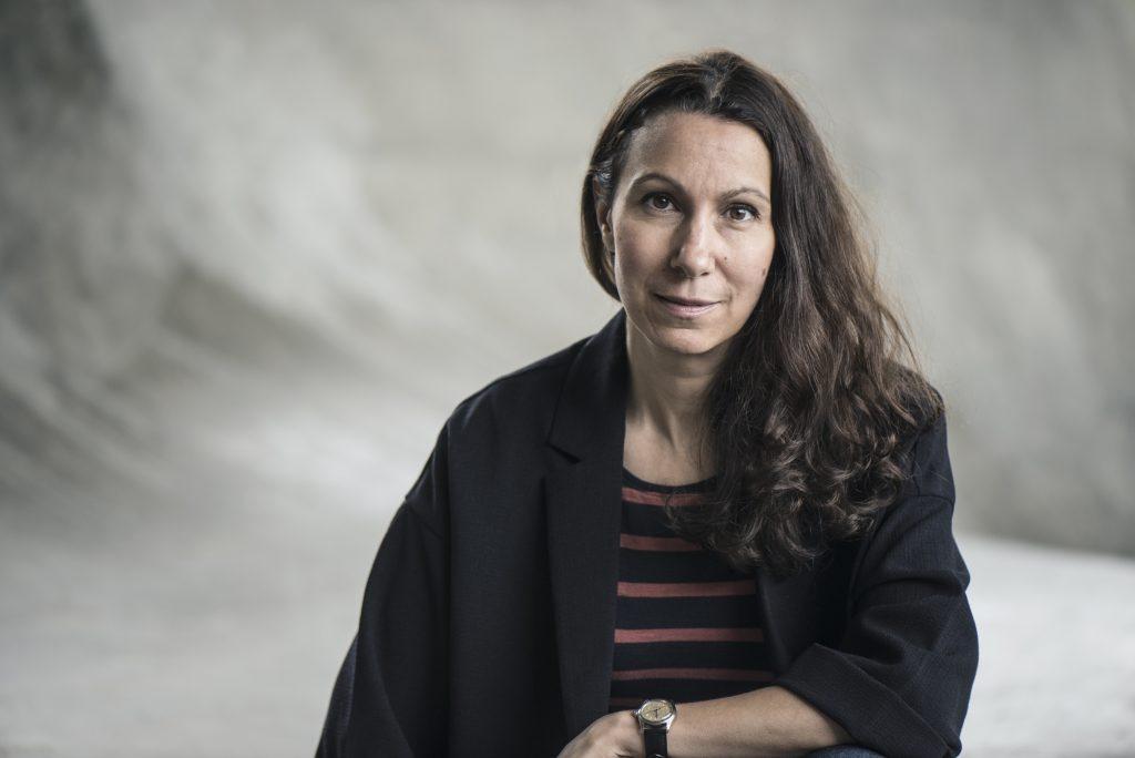 Fatima Bremmer från Skara är aktuell med biografin Ett jävla solsken – en biografi Ester Blenda Nordström Foto: Helén Karlsson /Forum