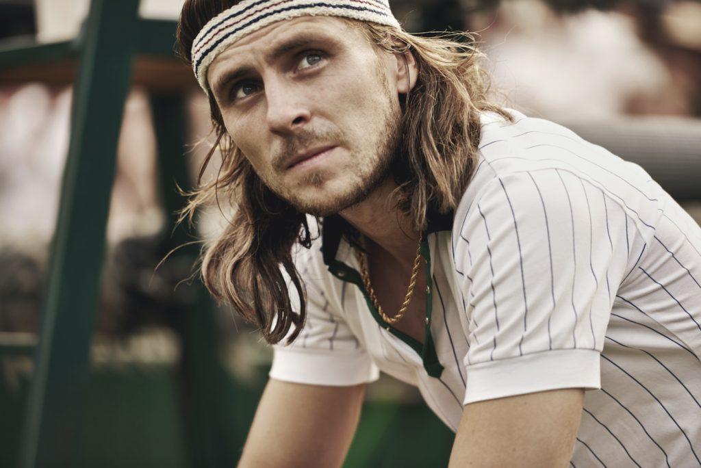 Filmen om tennislegenden Björn Borg hade premiär i början av september.Foto: Pressbild/Nordisk Film