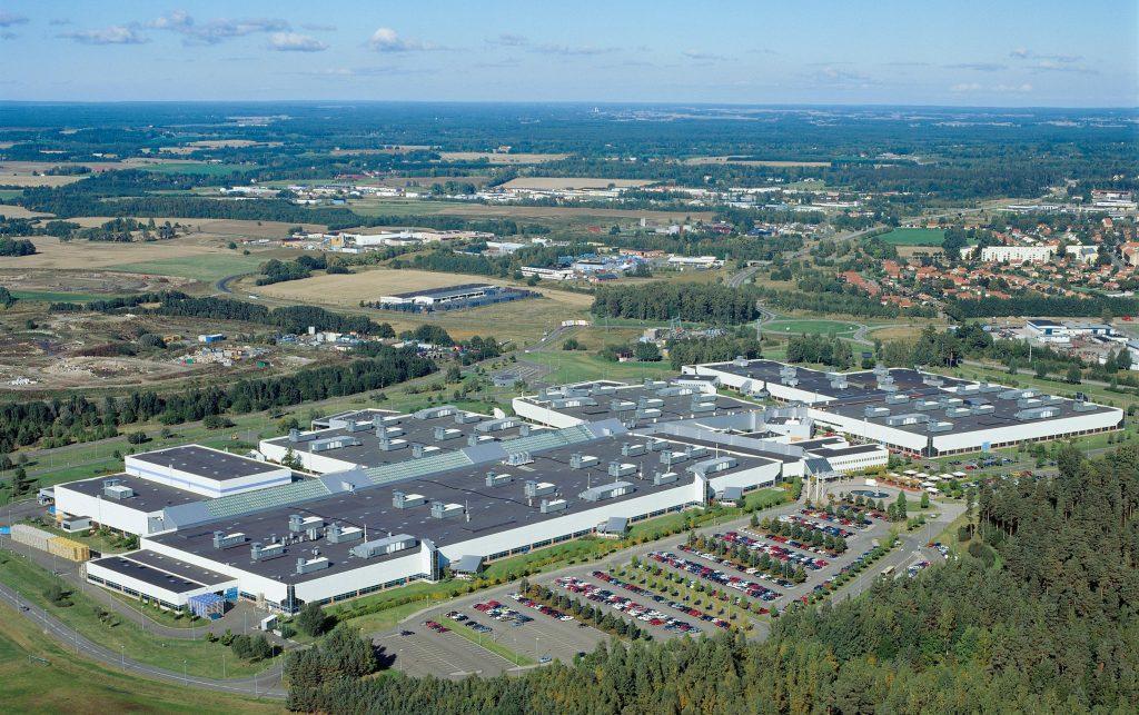 Volvos fabrik i Skövde. Foto: Volvocars