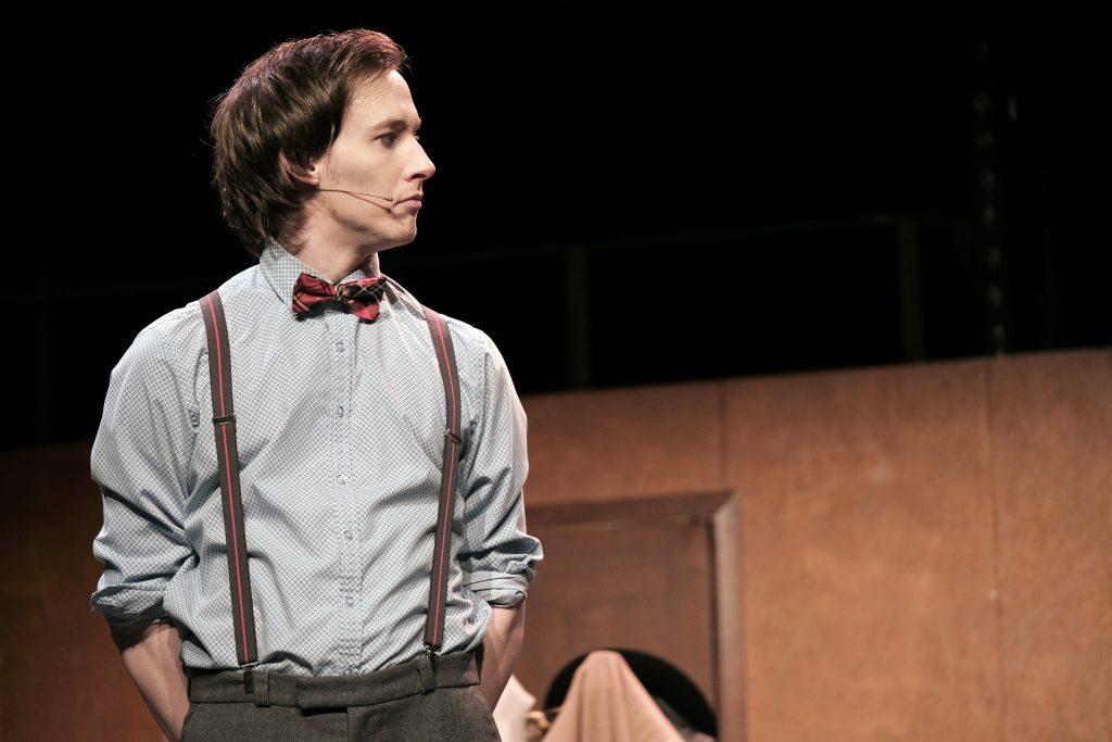 Cabaret skiljer sig från allt annat som Hampus Sandström gjort på scenen hittills.Foto: Pressbilder/Revymakarna