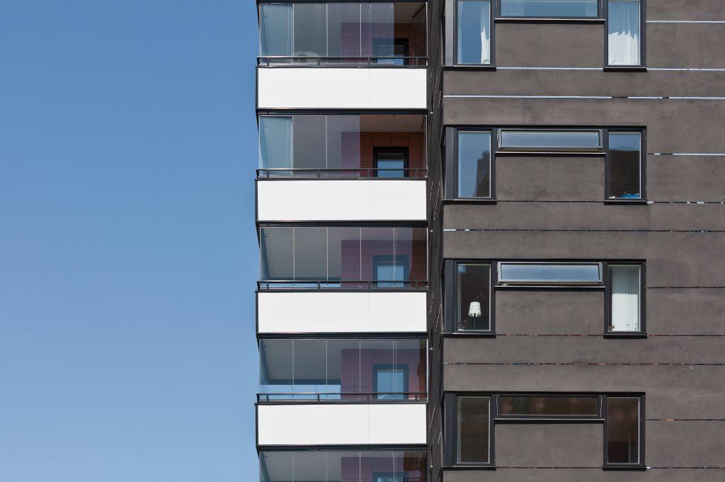 Part of Apartment building