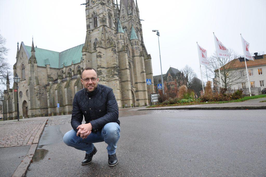 Kristian Wejshags Olinsgymnasiet i Skara vill expandera .