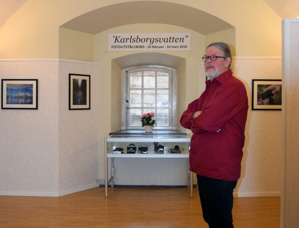 Hans Sjöberg från Fotoklubben Karlsborg tror att det går att utforska temat vatten ännu mer.