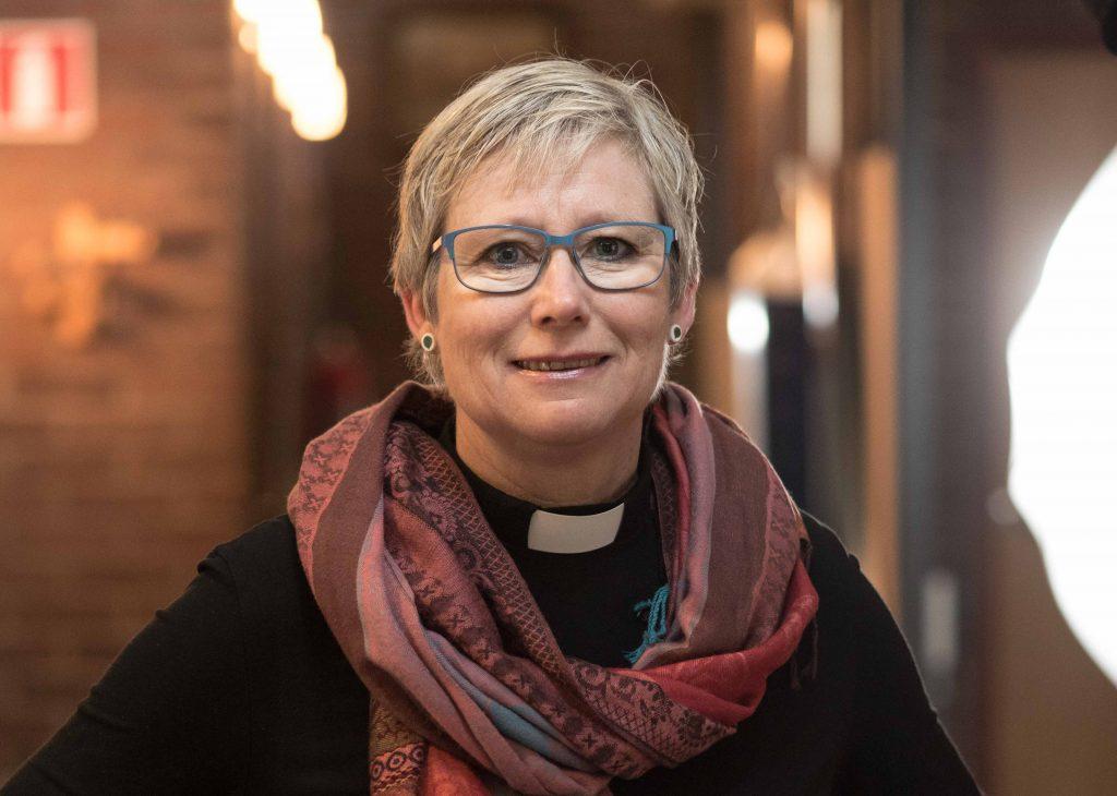 Göteborgs stifts 24:e biskop sedan stiftet bildades 1665, blir för första gången en kvinna. Susanne Rappman, som bor i Lindome. Foto: Harald Nilsson