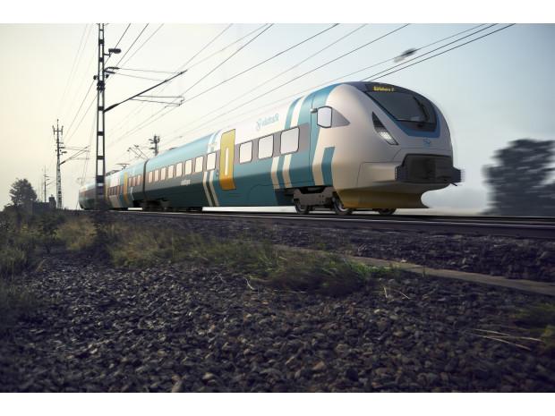 40 nya tåg ska rulla i Västra Götaland från år 2021. Foto: Västtrafik.
