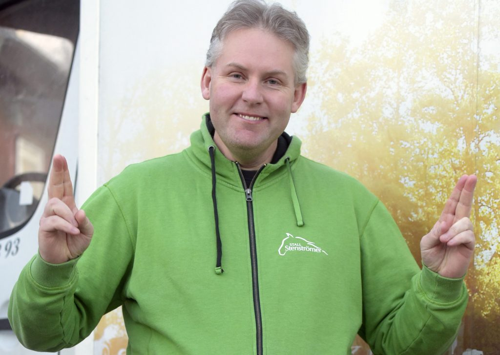 Ulf Stenströmer har gått ner 20 kilo på tre månader och säger sig må betydligt bättre. Foto: Martin Langels/ALN