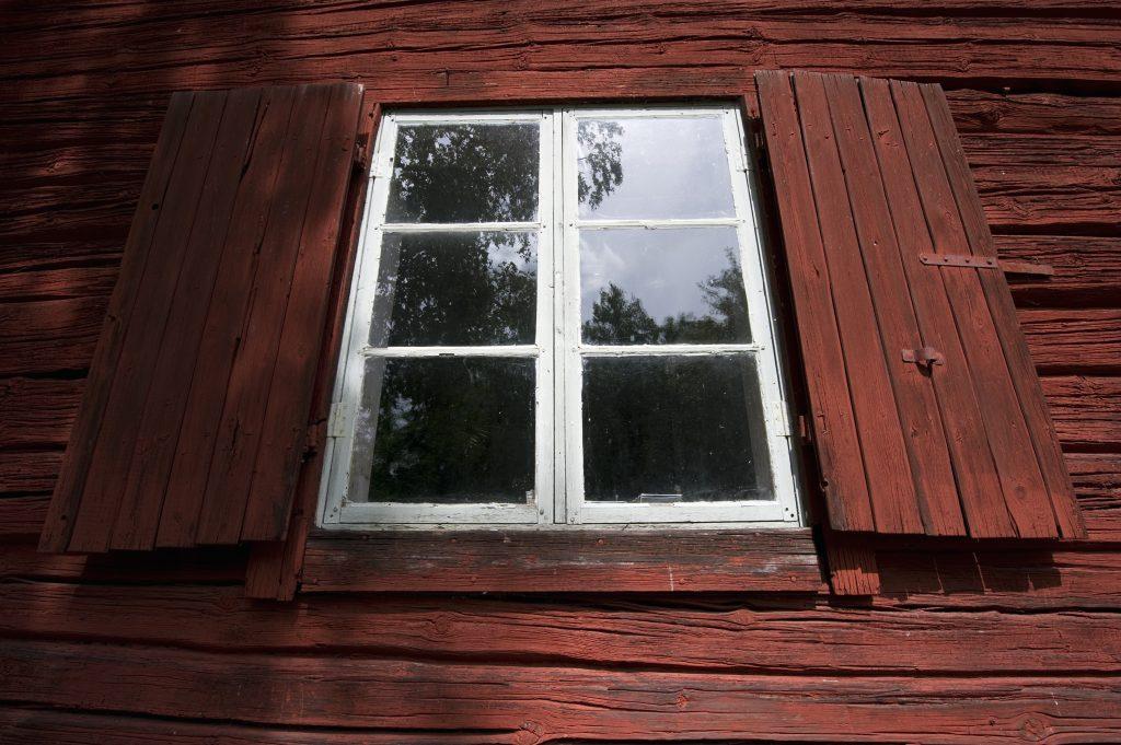 An old window. Sweden.