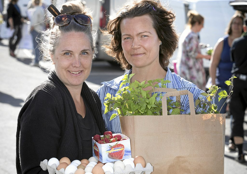 Victoria Svensson och Annika Gustafsson. Foto: Mikael Ljungström/Scandphot